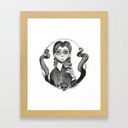 Death Before Decaf: I Hate Everything Framed Art Print