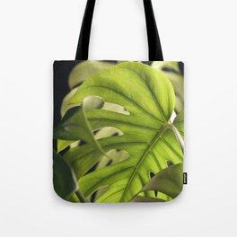 Monstera Layers Tote Bag