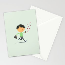 Boy in Love #3 Stationery Cards