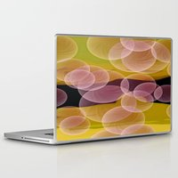 bubbles Laptop & iPad Skins featuring Bubbles by lillianhibiscus