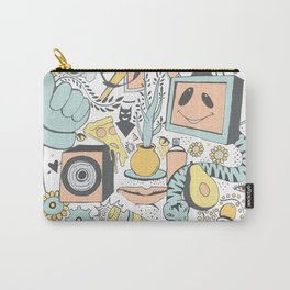Whole Thing About That (pastels) Carry-All Pouch