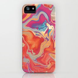 DRAMAQUEEN GOLD FIRE by Monika Strigel iPhone Case