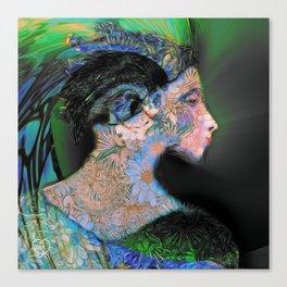 She Has a Certain Rhythm Canvas Print