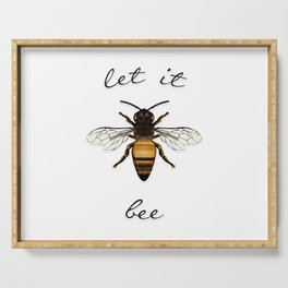Let it Bee Serving Tray