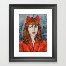 Super Gurls - 02 Framed Art Print