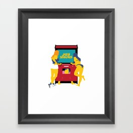 Joy Sticks Framed Art Print