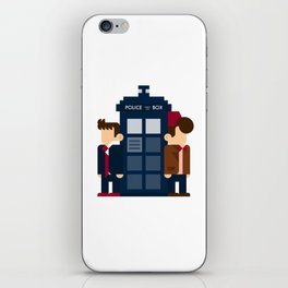 Doctor Who 10th & 11th iPhone Skin
