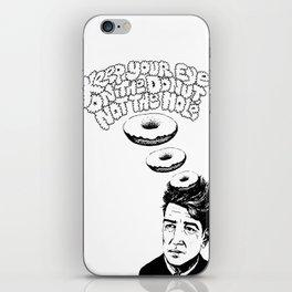 """Eye on the Donut"" iPhone Skin"