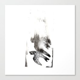Soul Leaves the Body Canvas Print