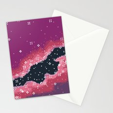 Pink Rift Galaxy (8bit) Stationery Cards