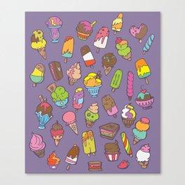 Summer Treats Canvas Print