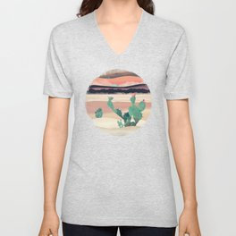 Desert Dawn Unisex V-Neck