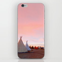 Marfa skies iPhone Skin