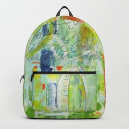 abstract 4 growth and prayer Backpack