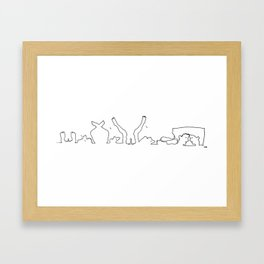 Sex Framed Art Print