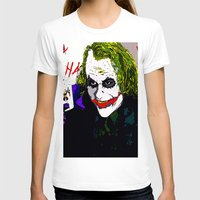 the joker T-shirts featuring joker by Saundra Myles