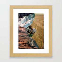 To be seen Framed Art Print