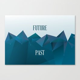 Past and Future Canvas Print
