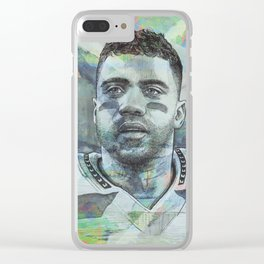 Russell Wilson - #3 Clear iPhone Case