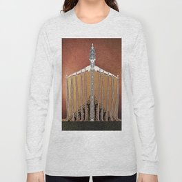 """Design in Art-Deco Style """"Adoration"""" Long Sleeve T-shirt"""
