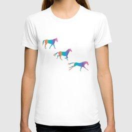 A Rainbowhorse Runs_A T-shirt