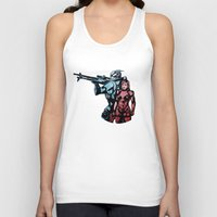 garrus Tank Tops featuring No Shepard Without Vakarian by Weissidian