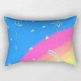 Rainbow Skies Rectangular Pillow