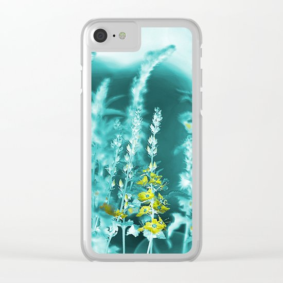 #89 Clear iPhone Case