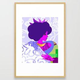 Queen's Robe Framed Art Print