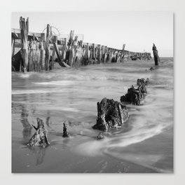 Walberswick Beach Canvas Print