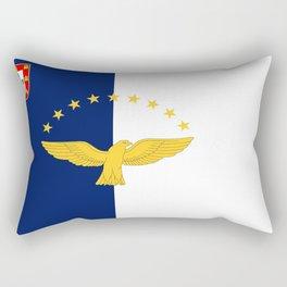 Azores Islands Flag Rectangular Pillow