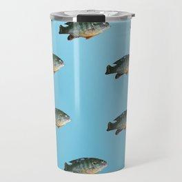 Green Sunfish Travel Mug