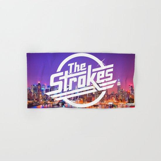 The Strokes Logo New York Night Hand & Bath Towel