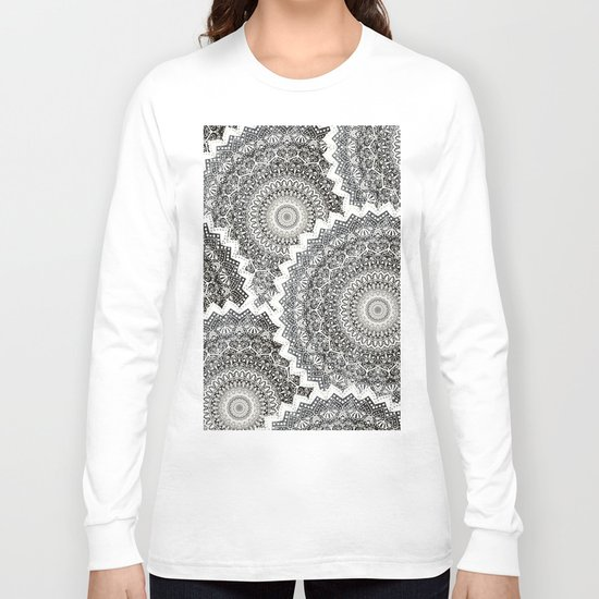 WINTER MANDALAS Long Sleeve T-shirt