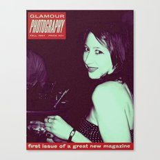 Glamour Photography Canvas Print