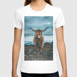 Rusty The Scottish Highland Coo T-shirt