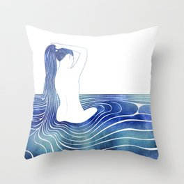 Panopeia Throw Pillow