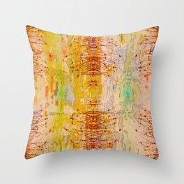 Organic Pattern Throw Pillow