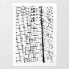 The Shard Abstract Art Art Print