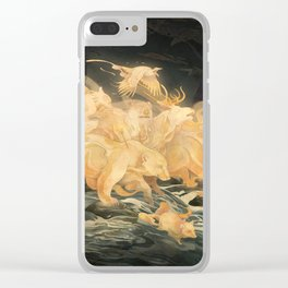 Hunter's Call Clear iPhone Case