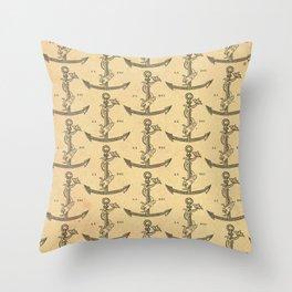 Aldus Manutius Printer Mark Throw Pillow