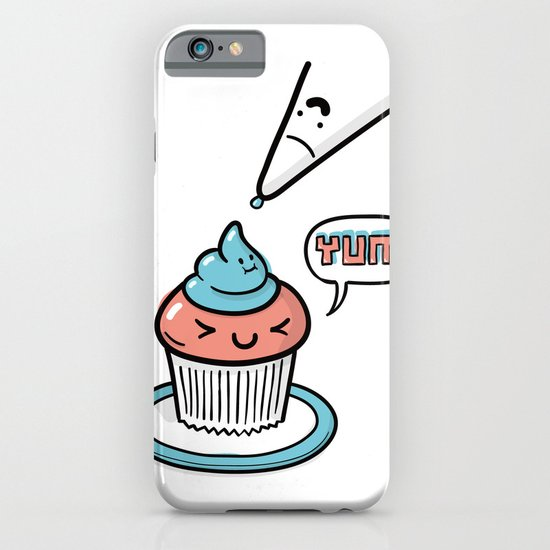 Friends Go Better Together 5/7 - Cupcake and Icing iPhone & iPod Case