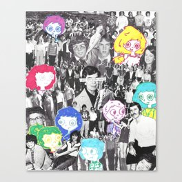School Daze Canvas Print