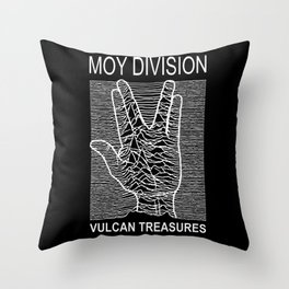 Moy Division Throw Pillow