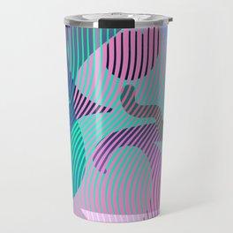 Moiré Ampersand Travel Mug