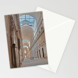 Abandoned Prison Corridor Stationery Cards