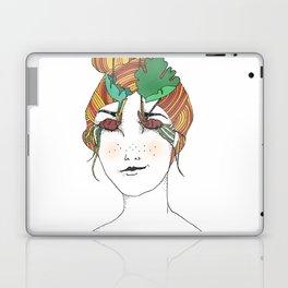 Bloodroot Girl Laptop & iPad Skin