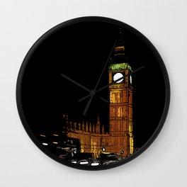 London Retro Wall Clock