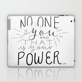 No One Is You Laptop & iPad Skin