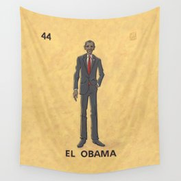 EL OBAMA Wall Tapestry